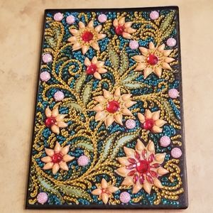 Other - Wildflowers Jeweled Notebook/Journal NWOT